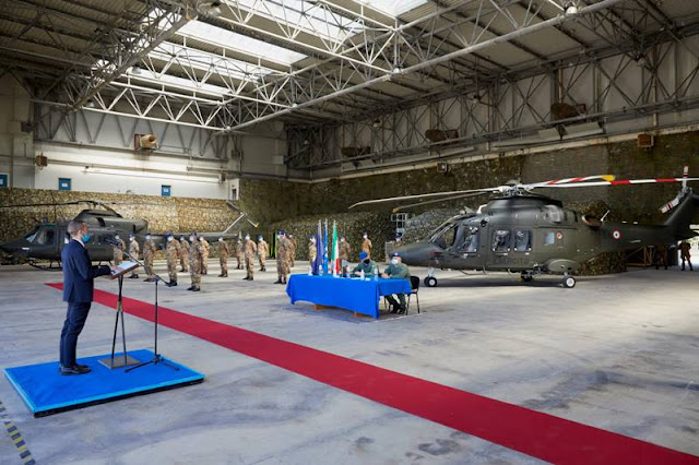 Consegna primo AW169 Esercito