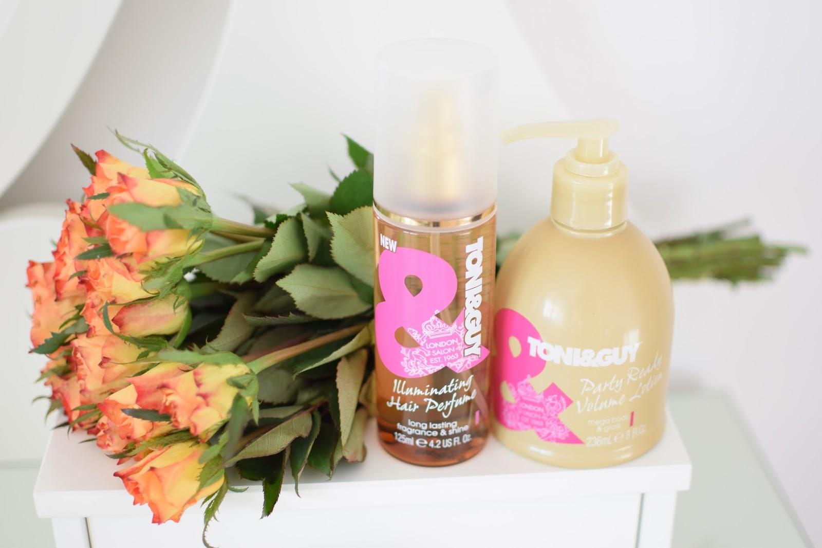 TONI GUY Party ready volume lotion - tento prípravok sľubuje pre vlasy  objem a lesk 19e8b878467