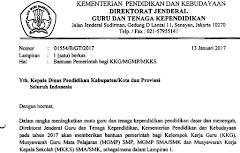 Juknis Bantuan KKG dan MGMP Tahun 2017 Dari Kemdikbud