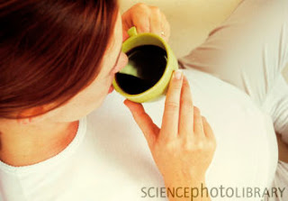 Pregnant Women Drinking Coffee 113