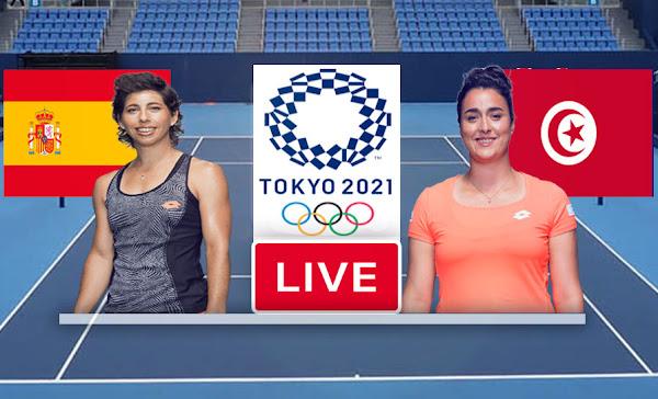 Jabeur.O vs Suarez Navarro C. Live Stream - Live In Olympic Games