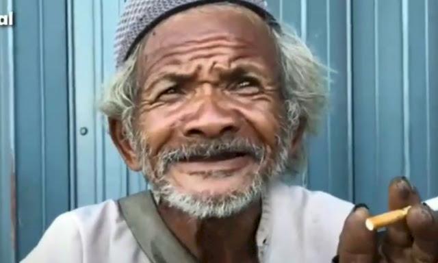 Kisah Kakek 85 Tahun yang Masih Kuat dan Sehat Cari Rezeki, Ternyata Cuma Minum Ini