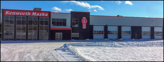 Kenworth Maska New Location in Southern Quebec