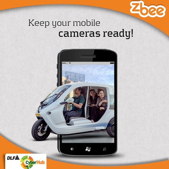 Click a selfie with Zbee and get trending