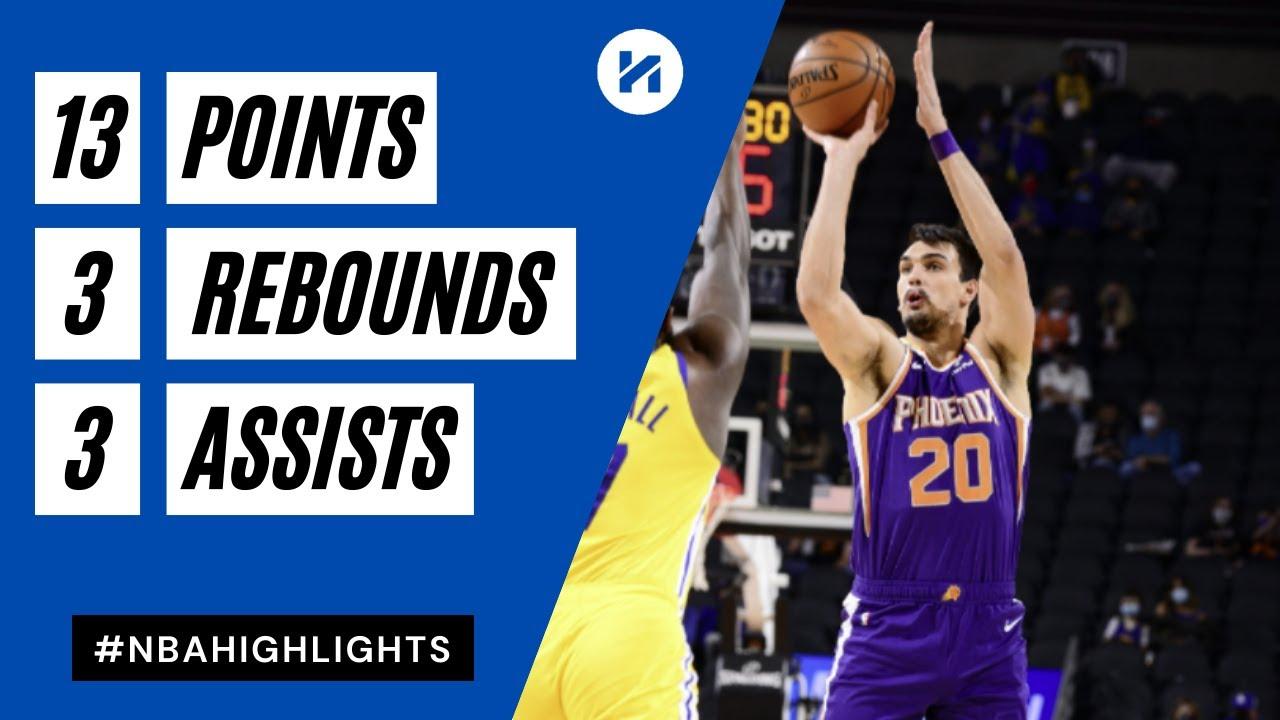 Dario Saric 13pts vs GSW | March 4, 2021 | 2020-21 NBA Season