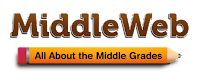 MiddleWeb All about Middle Grades website logo