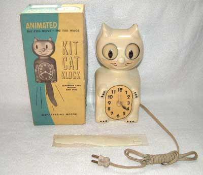 hause zarath kit cat clock. Black Bedroom Furniture Sets. Home Design Ideas