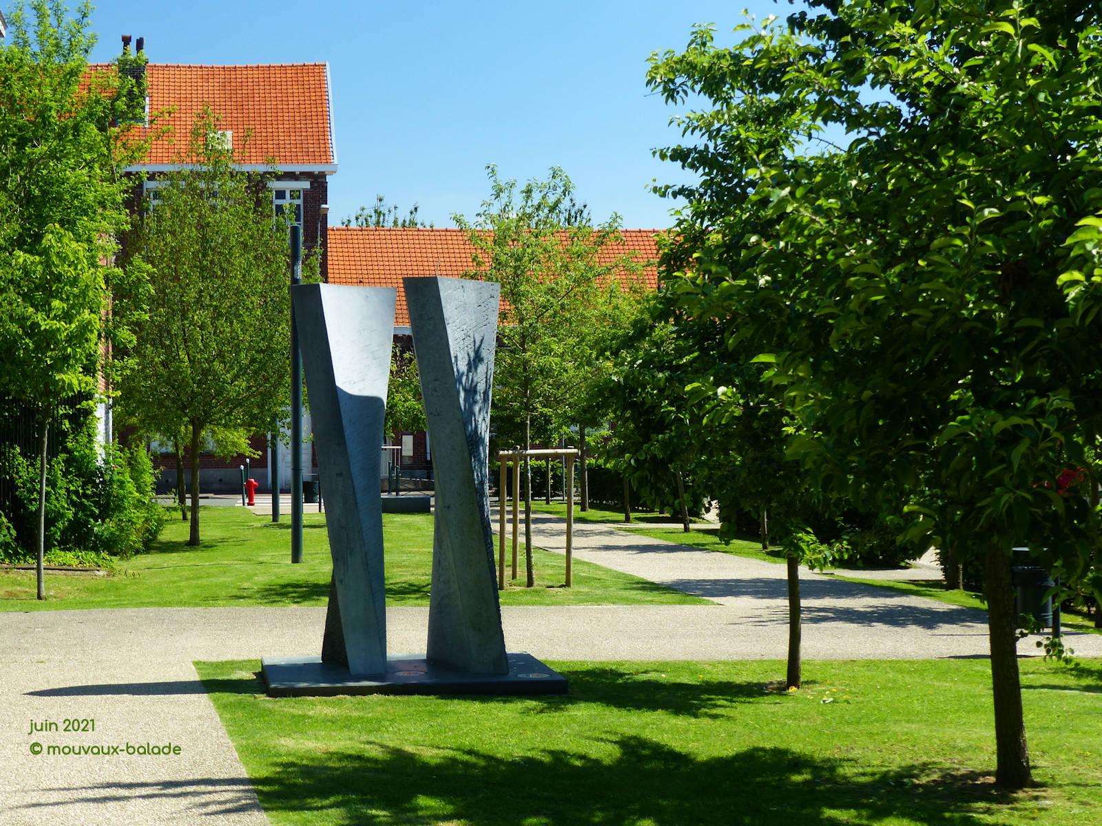 Sculpture Martin Hollebecq, Mouvaux