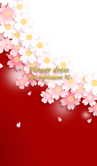 Flower dress -cherryblossom4-