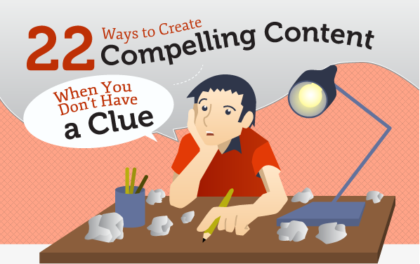 22 Ways To Create Attractive Content [Infographic]