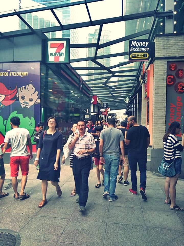 Bukit Bintang Street Kuala Lumpur