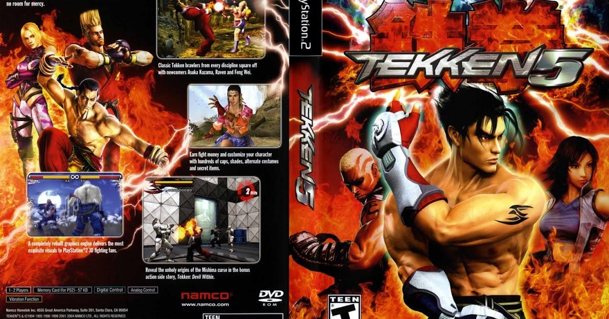 jogo tekken 5 ps2 formato iso