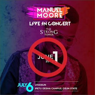 YES WE ARE READY!!! THE STRONG TOWER GOSPEL CONCERT ANNOUNCES JULY 6TH AS IT'S OFFICIAL DATE
