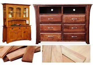 lokasi produksi barang dari kayu di daerah Sumatera Utara