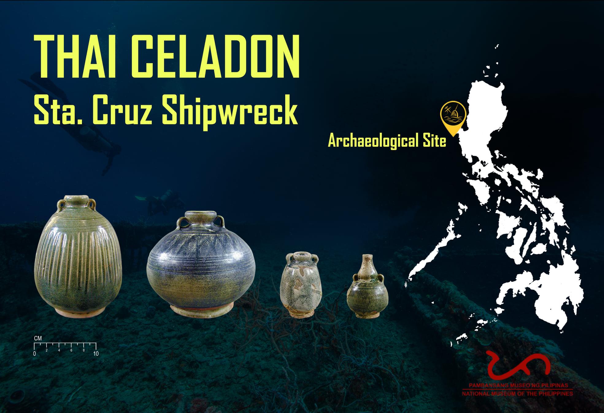 Thai Celadon Wares - Santa Cruz Shipwreck