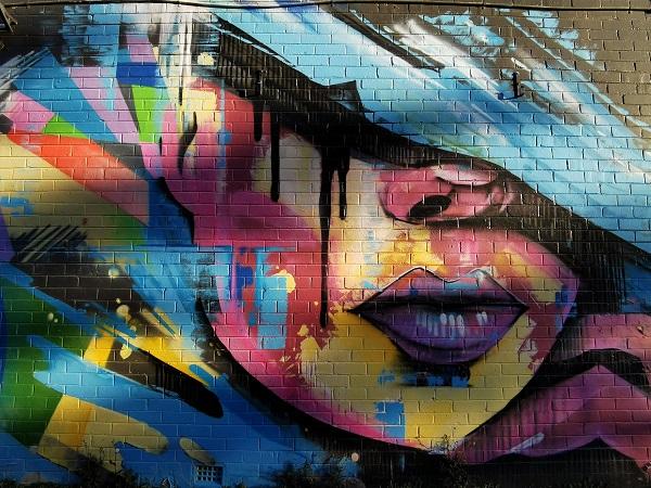 Braddon Street Art   Dai Cameron