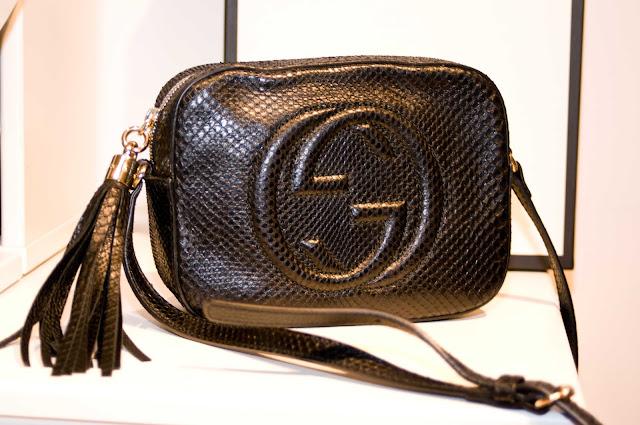 oryginalna torebka marki Gucci Soho Disco Black