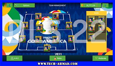 تحميل لعبة دريم ليج سوكر 2022 للاندرويد مود بطولة الكوبا امريكا من ميديا فاير