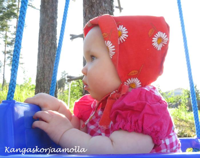 Ompele vauvan aurinkohattu