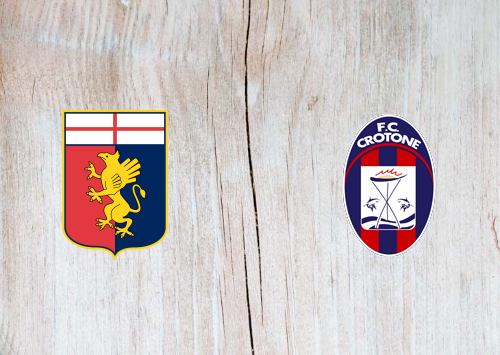 Genoa vs Crotone -Highlights 20 September 2020