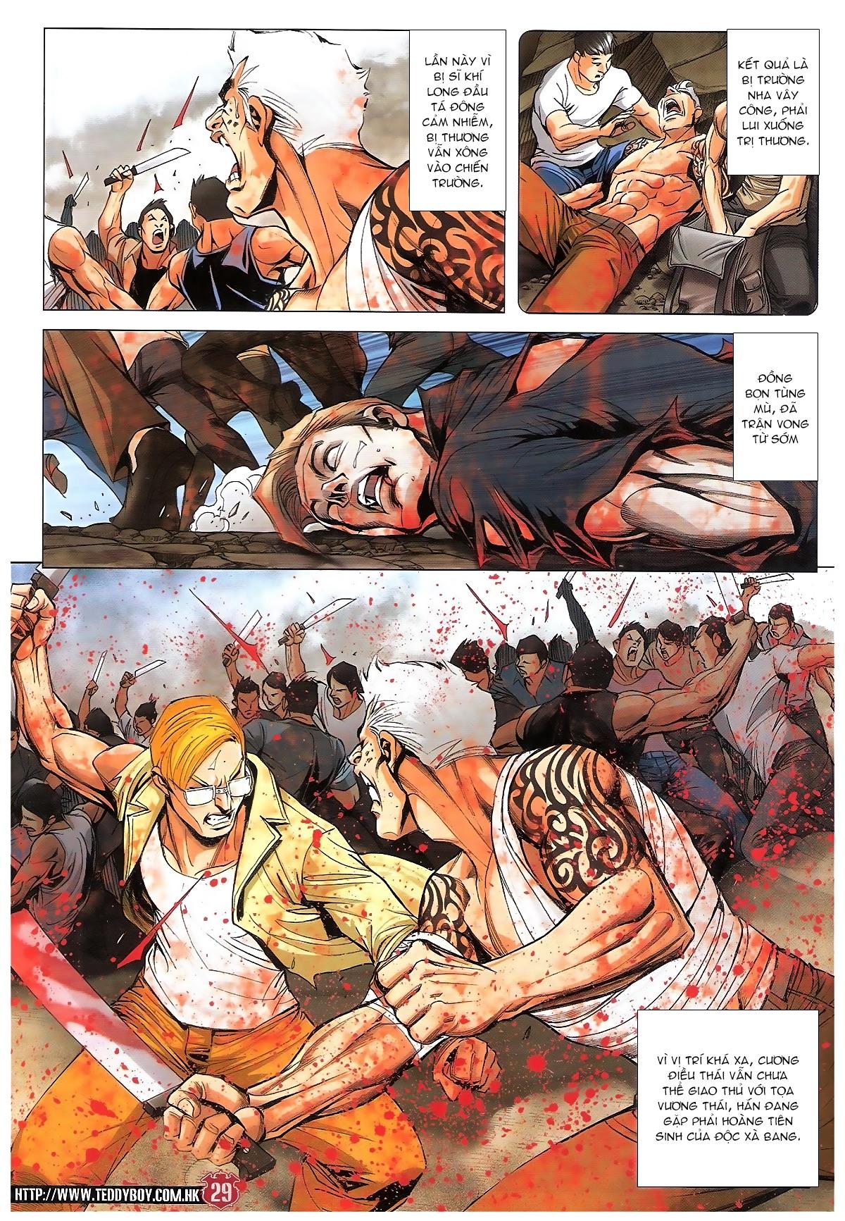 Người Trong Giang Hồ chapter 1840: đại phi ác chiến kim tôn quý trang 27
