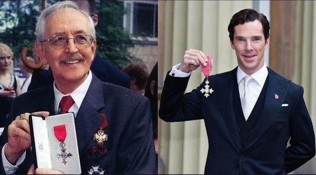 The Most Excellent Order of the British Empire Vasilij Livanov and Benedict Timothy Carlton Cumberbatch
