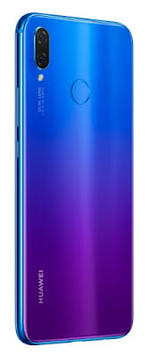 Source: Huawei. The  Purple Iris version of the HUAWEI nova 3i.