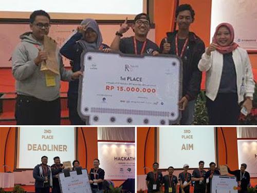 Juara Hackathon 2017 Bandung