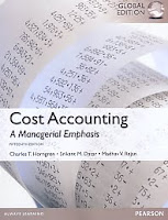 Judul Buku : COST ACCOUNTING - A Managerial Emphasis FIFTEENTH EDITION Global Edition