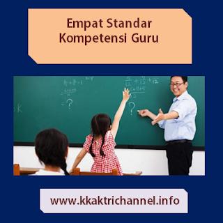 Empat Standar Kompetensi Yang Harus Dimiliki Guru