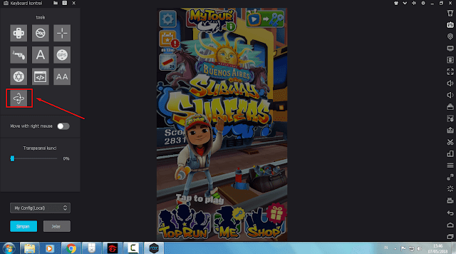 Play Subway Surfers On [PC] With Keyboard