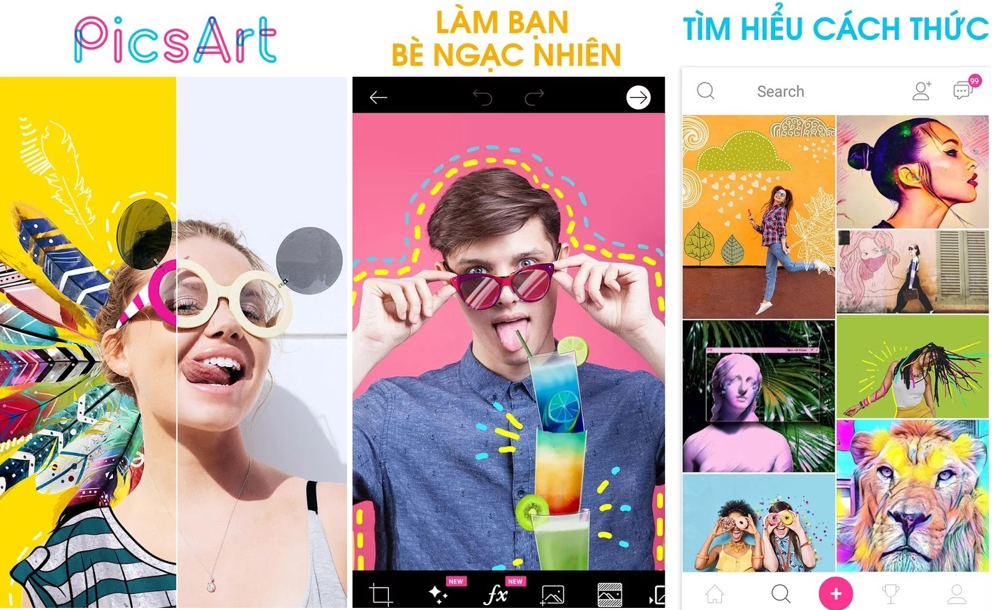 PicsArt Photo Editor: Tạo Ảnh ghép & Chỉnh sửa Ảnh Mod