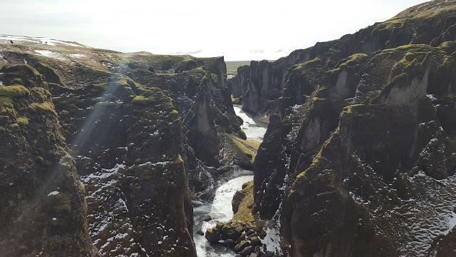 Fjaorargljufur canyon Iceland road trip
