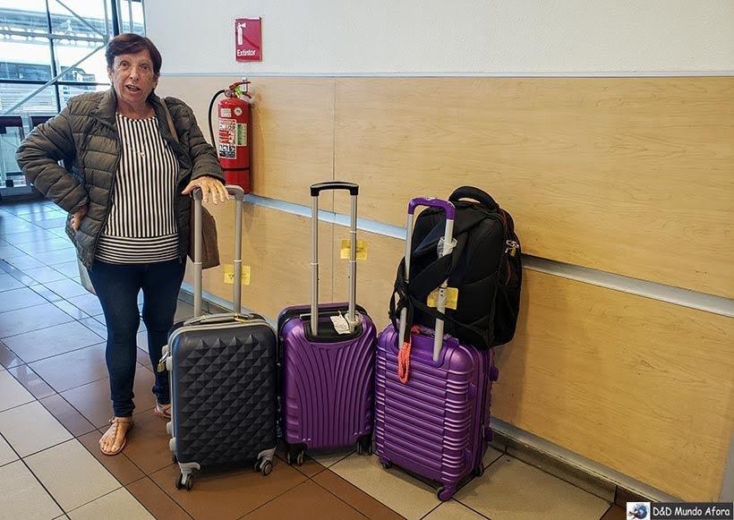 Aeroporto de Santiago - Diário de Bordo Chile: 8 dias em Santiago e arredores