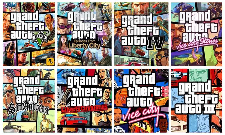 تحميل جميع اجزاء لعبة جاتا GTA للكمبيوتر برابط مباشر من ميديا فاير