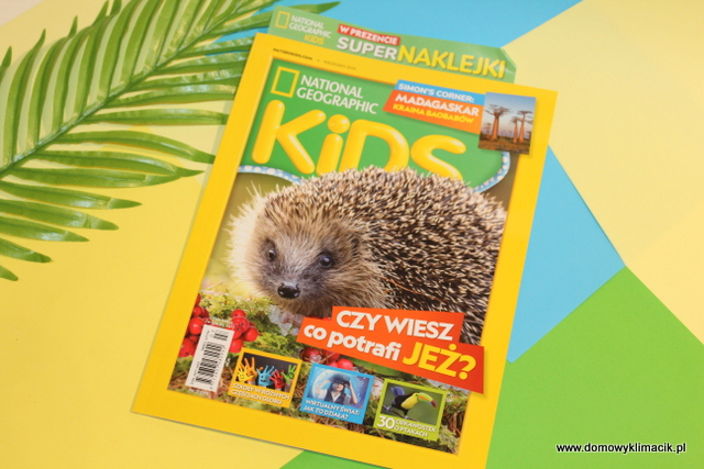 NATIONAL GEOGRAPHIC KIDS NR 7/2019 - WRZESIEŃ 2019r