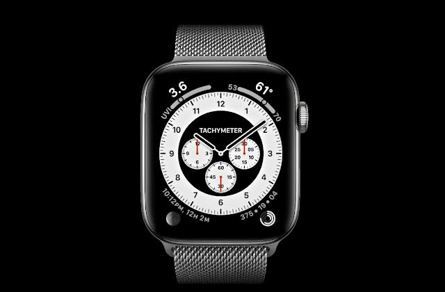 آبل تطلق الإصدار التجريبي الخامس من watchOS 7 للمطورين
