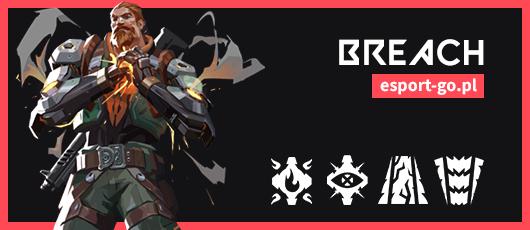 Valorant postacie - opis umiejętności Breach