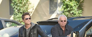 Eugenie's hubby William Devane with a car along co-star
