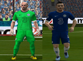 Update Kits Chelsea PES 6 Home and GK 2020-2021