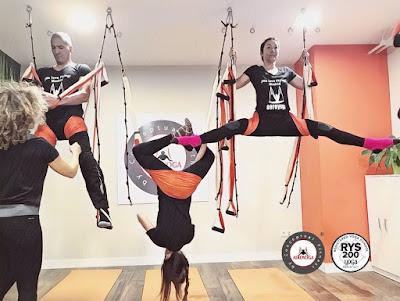 Qu'est ce que le yoga aérien