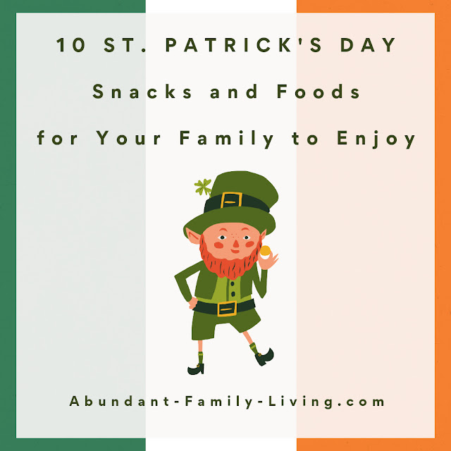 St. Patrick's Day Snacks and Foods