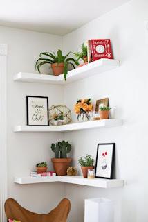 Ide Kreatif Memanfaatkan Sudut Ruangan