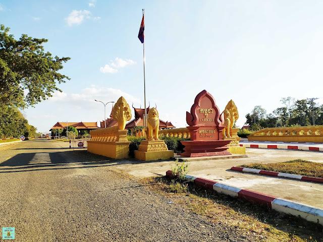 Frontera de Camboya