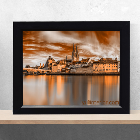 Panorama, Buildings, Architecture Wall Frames, Framed Print, in Port Harcourt Nigeria
