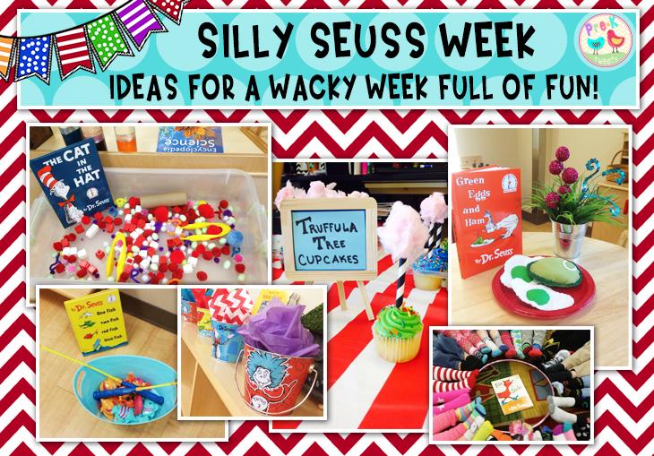 Pre K Tweets Silly Seuss Week Ideas