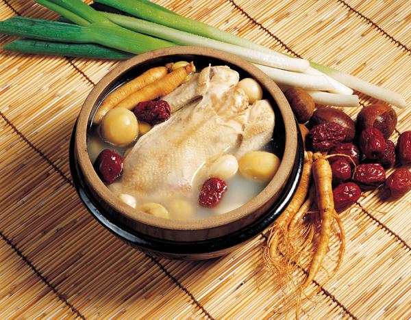как приготовить женьшеневый куриный суп