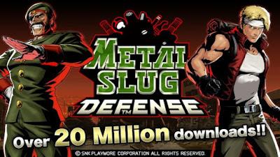 Download METAL SLUG DEFENSE Apk v1.43.0 (Mod Money) Terbaru 2016