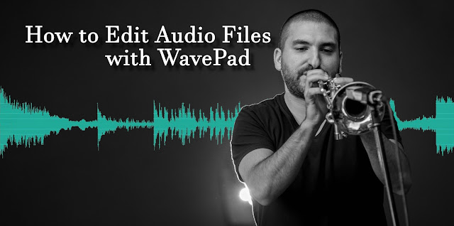 musician recording with WavePad