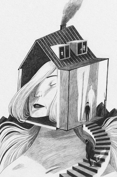 """Ilustraciones del libro """"City"""" por Anja Susanj 5"""